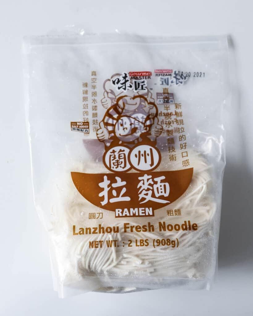 lanzhou ramen noodles - thai khao soi recipe