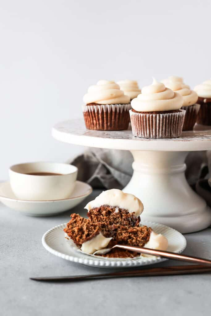 Spiced Carrot Cake with Brown Butter Cream Cheese Frosting